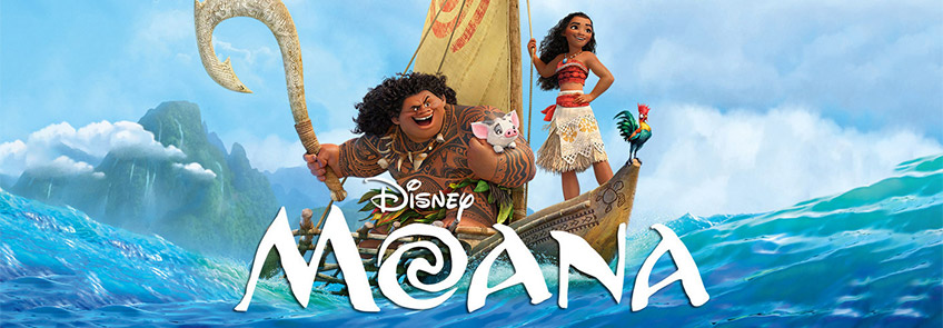 Moana movie.